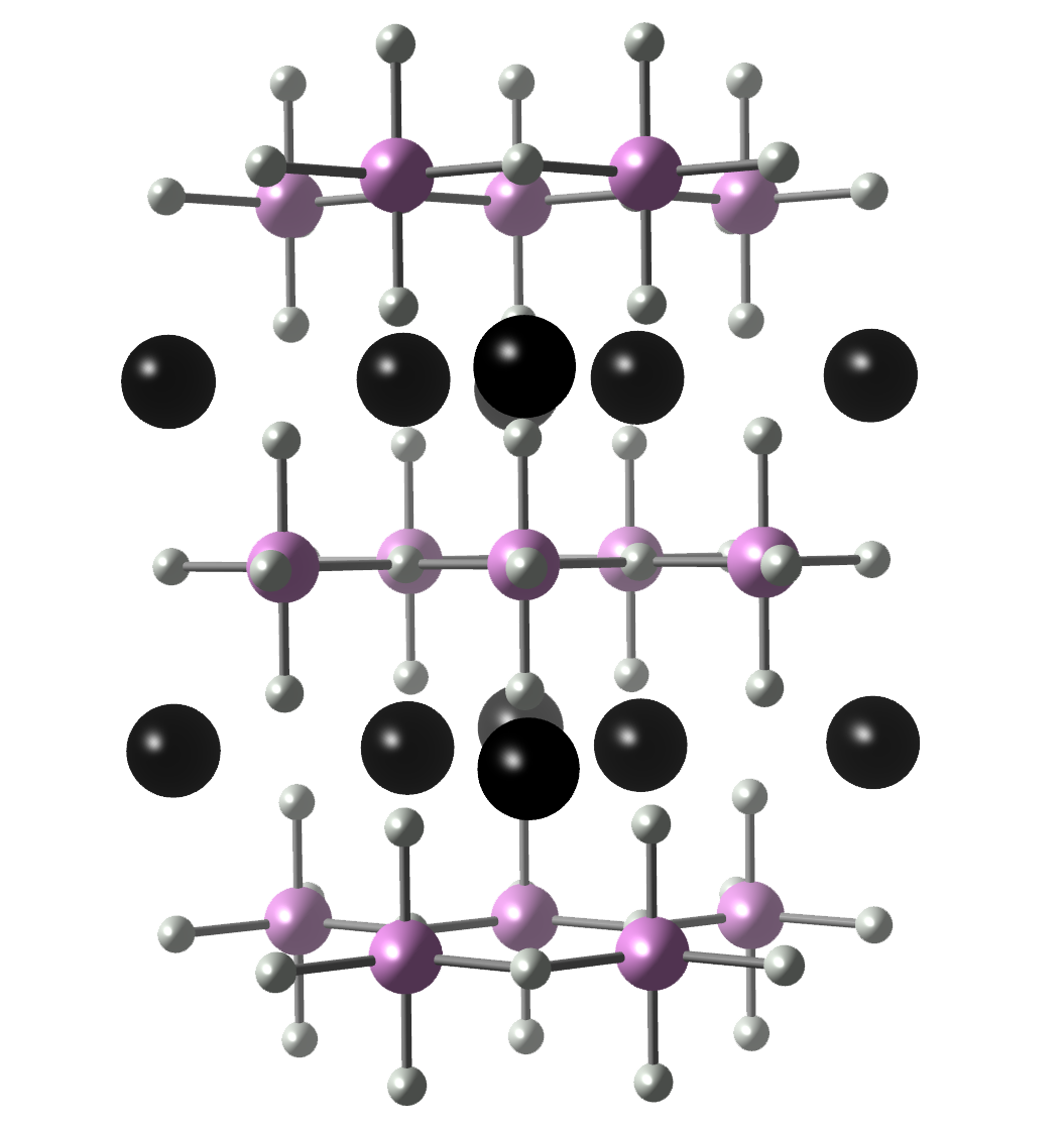 Hexagonal Manganite Crystal Structure